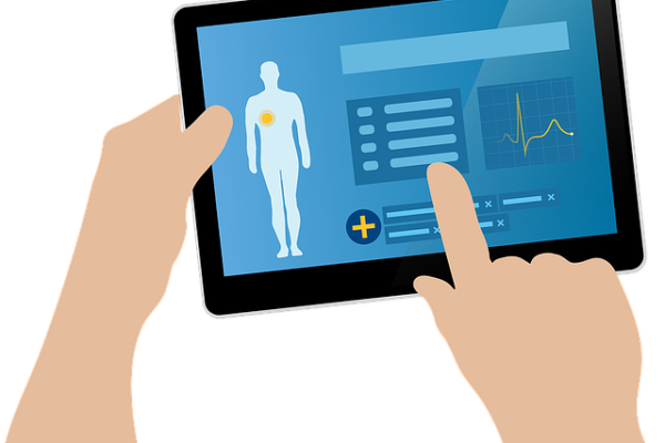 healthcare online visibility, website, marketing on fingertips